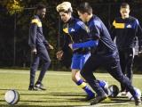 jonge vluchtelingen spelen voetbal in Kraainem